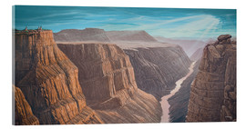 Acrylic glass  Grand Canyon - Georg Huber