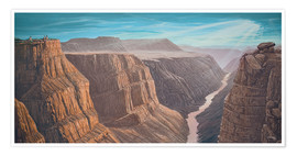 Premium poster  Grand Canyon - Georg Huber