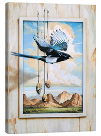 Canvas print  FREE BIRD - Georg Huber
