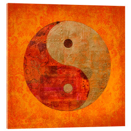 Acrylic glass  Yin and yang - Andrea Haase