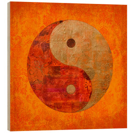 Wood  yin and yang - Andrea Haase