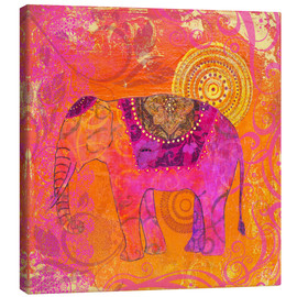 Canvas  happy Elephant III - Andrea Haase