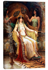 Canvas print  Queen of Saba - Edward Scolombe