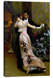 Canvas print  At the end of the ball - Rogelio de Egusquiza