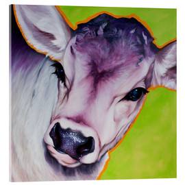 Acrylic glass  cow pretty Betty - Renate Berghaus