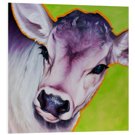 Foam board print  cow pretty Betty - Renate Berghaus