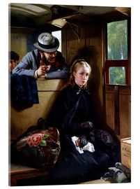 Acrylic print  The Irritating Gentleman - Berthold Woltze