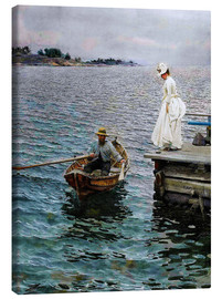 Canvas print  Summer - Anders Leonard Zorn