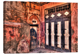 Canvas print  Old wooden doors in Marrakech - HADYPHOTO by Hady Khandani