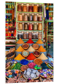 Forex  Spices on a bazaar in Marrakech - HADYPHOTO by Hady Khandani