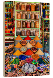 Wood  Spices on a bazaar in Marrakech - HADYPHOTO by Hady Khandani