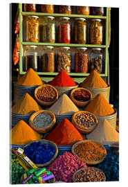 Acrylic glass  Spices from Morocco - HADYPHOTO by Hady Khandani