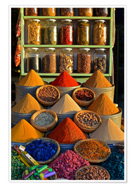 Premium poster Spices from Morocco