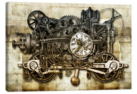 Canvas print  Time machine - diuno