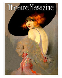 Premium poster  Theatre Magazine Vintage Fashion - Advertising Collection