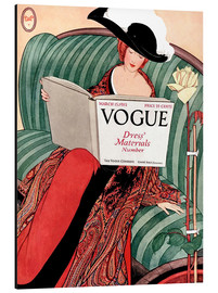 Aluminium print  Vintage Vogue - Advertising Collection