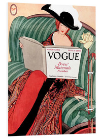 Foam board print  Vintage Vogue