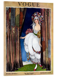 Acrylic print  Vogue Cover 1919 - Advertising Collection