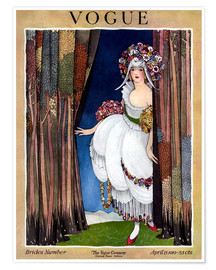 Poster Vogue Cover 1919