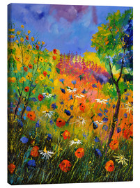 Canvas print  Meadow with wildflowers - Pol Ledent