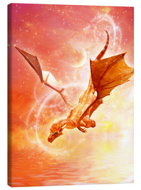 Canvas print  Dragon Flight - Dolphins DreamDesign