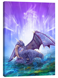 Canvas print  Dragon Energy - Dolphins DreamDesign