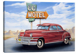 Canvas print  Motel 66 - Georg Huber