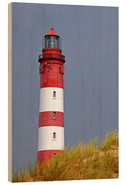 Wood  red Lighthouse - Sarnade