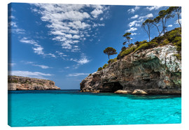 Canvas print  Mallorca - South coast - Jürgen Seibertz