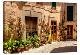 Canvas print  Mallorca - Valldemossas most beautiful views - Jürgen Seibertz