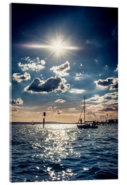 Acrylic print  Summer day on Lake Constance - Siegfried Heinrich