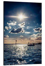 Aluminium print  Summer day on Lake Constance - Siegfried Heinrich
