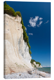 Canvas  Chalk Cliffs in the National Park Jasmund on Ruegen - Markus Ulrich