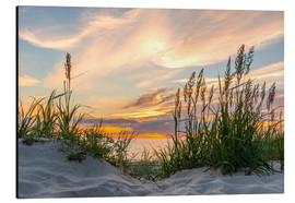 Alu-Dibond  Beach of the Baltic Sea during Sunset - Markus Ulrich