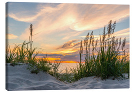 Canvas print  Beach of the Baltic Sea at Sunset - Markus Ulrich