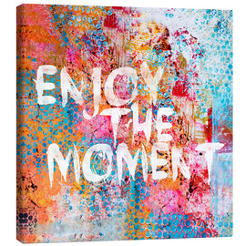 Canvas print  Enjoy the moment II - Andrea Haase