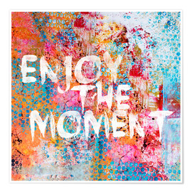 Premium poster  Enjoy the moment II - Andrea Haase