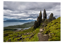 Acrylic print  Old Man of Storr, Isle of Skye, Scotland - Walter Quirtmair
