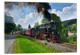 Acrylic glass  Harz Locomotive - Steffen Gierok