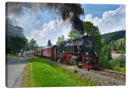 Canvas print  Harz Locomotive - Steffen Gierok
