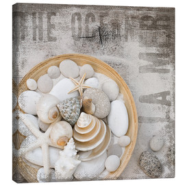 Canvas  Beach Treasures - Andrea Haase
