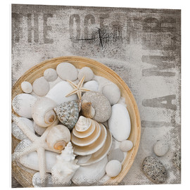 Foam board print  Beach Treasures - Andrea Haase