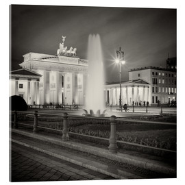 Acrylic print  Berlin - Brandenburg Gate (Analogue Photography) - Alexander Voss