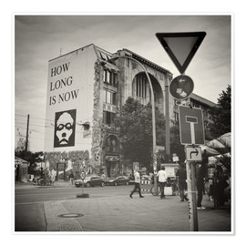 Premium poster  Berlin - Oranienburger Strasse (Analogue Photography) - Alexander Voss