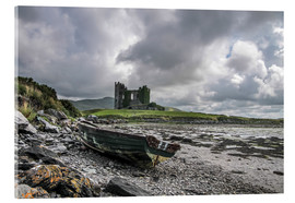 Acrylic glass  Ballycarbery Castle, County Kerry, Ireland - Christian Müringer