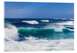 Acrylic glass  Waves, Fuerteventura - Markus Lange