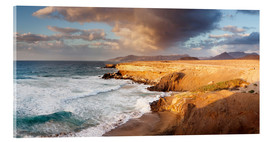 Acrylic print  Coast at sunset, Fuerteventura - Markus Lange