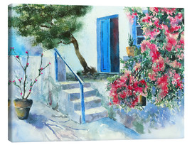 Canvas print  Bougainvillea - Jitka Krause