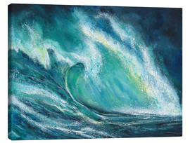 Canvas print  The power of the sea - Jitka Krause