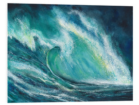 Foam board print  The power of the sea - Jitka Krause